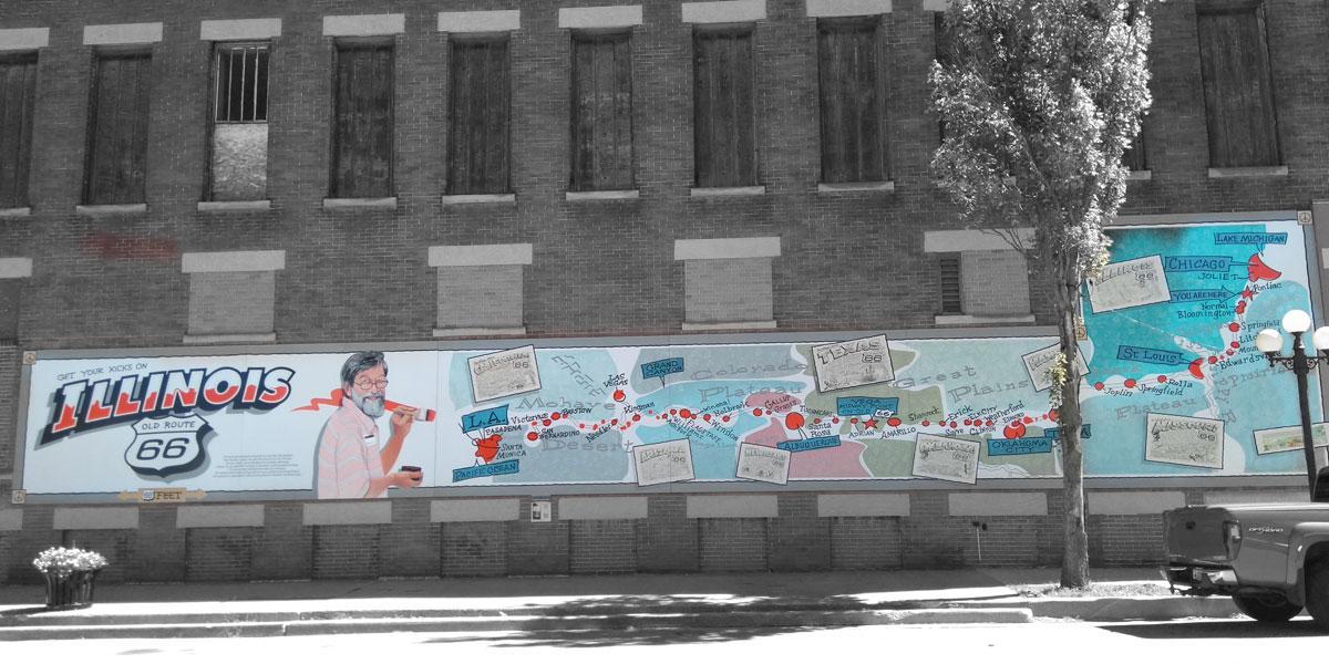 Wandbild in Pontiac