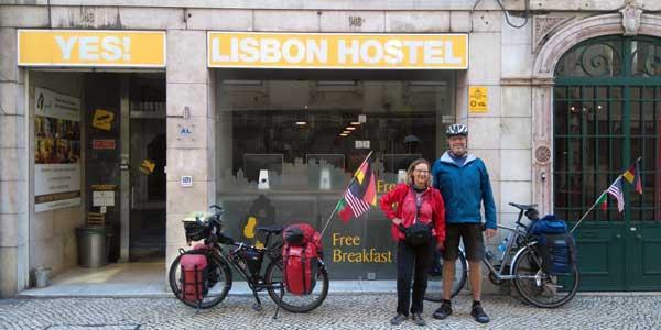 Karen Wichert und Werner Wilkens sind zurück in Europa