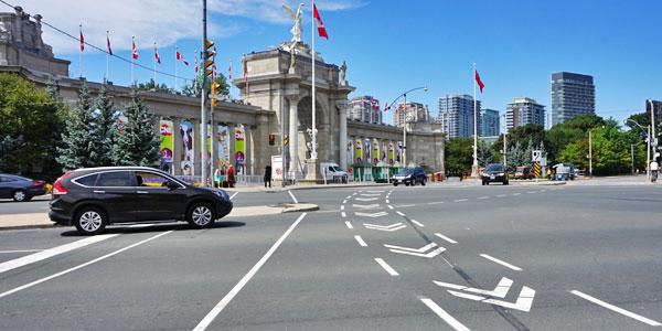 Toronto-Straßenverkehr